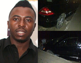 Samklef Escapes Death In Car Accident www.uwillcgossip.com