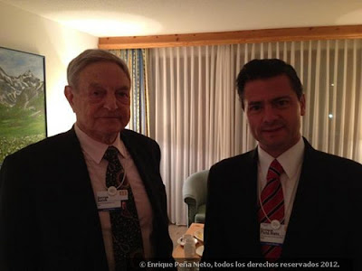 Enrique Nieto and George Soros
