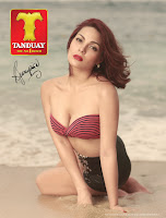 KC Concepcion shows off cleavage in Tanduay calendar 2013