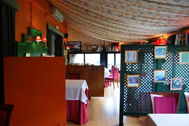 Terraza del Restaurante Frontón de Tolosa