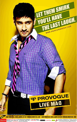 Mahesh Babu Provogue Live MAD Spring Summer 2011