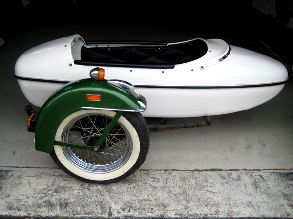 Working Class Kustoms Hd Amf Sidecar Cle For Sale