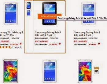 Tablet Samsung Android
