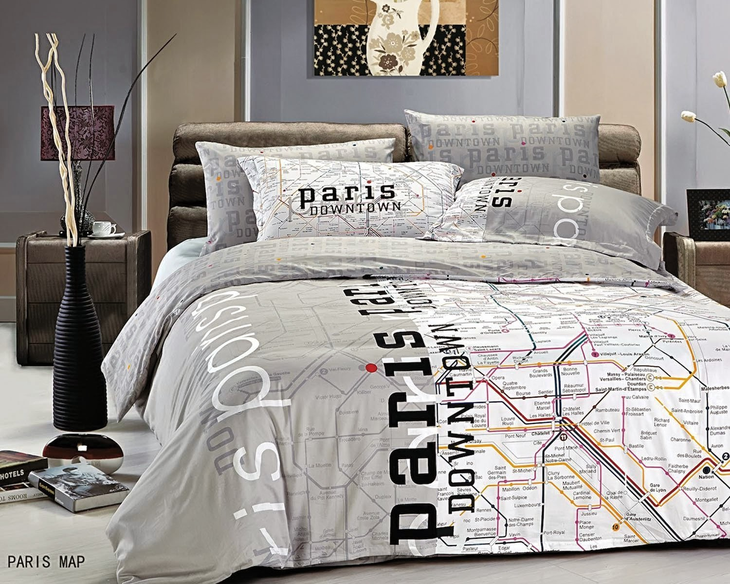 Bedroom Decor Ideas and Designs Top Ten Paris Themed Bedding Sets