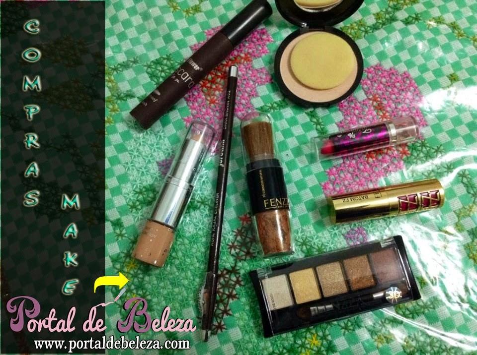 Maquiagem na 25 de Março