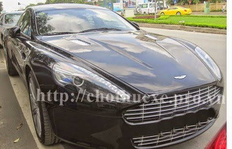 Cho thuê siêu xe Aston Martin Rapide - Công ty Đức Vinh Trans 1