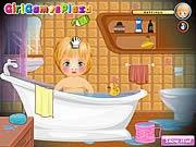 Trò chơi chăm sóc em bé, chơi game vui bạn gái online