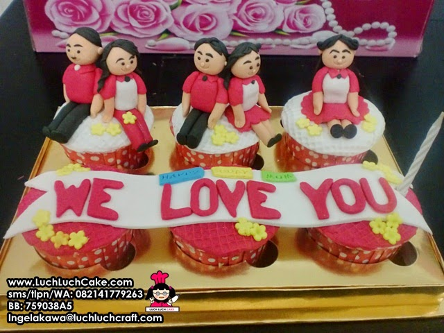 Cupcake Keluarga Daerah Surabaya - Sidoarjo