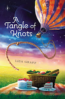 a tangle of knots by lisa graff book cover