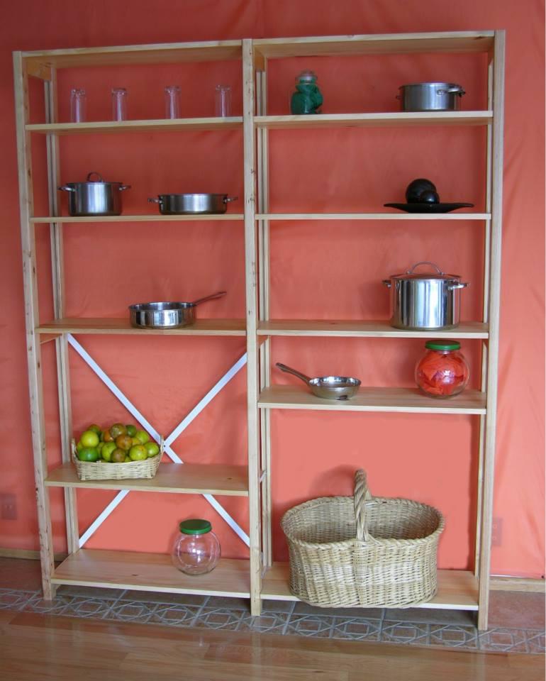Organizadores y repisas una cocina bien organizada no for Trastes de cocina