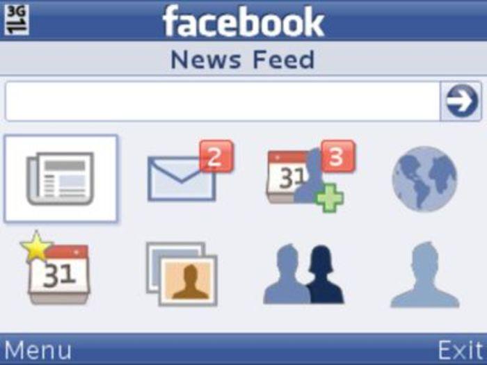 Facebook Cellulari Vecchi App