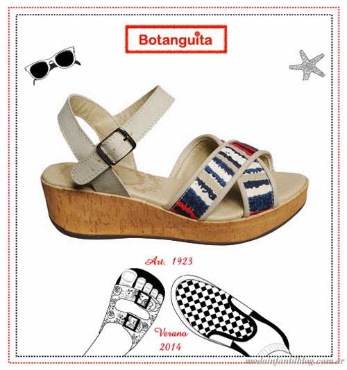 botanguita verano 2014 sandalias nenas