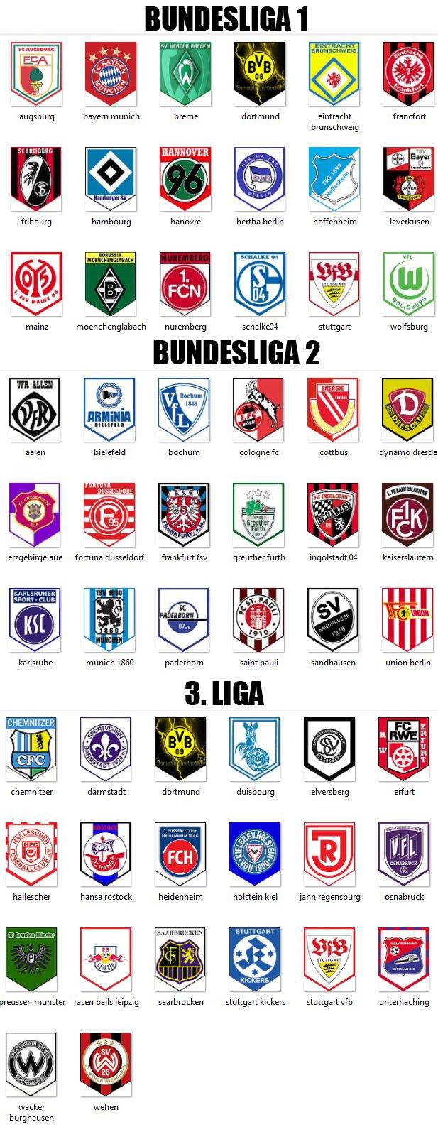 Logo club foot allemand d2