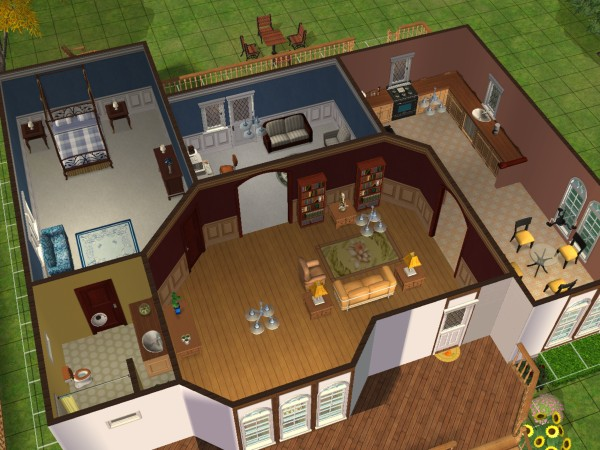 My Houses Tempt Cottage Sims 2