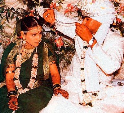 ajay devgan and kajol wedding ajay devgan and kajol wedding