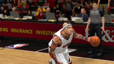 NBA 2K13 Miami Heat Birdman Update