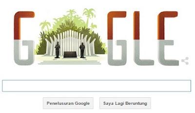 Google Doodle Ikut Merayakan Hari Kemerdekaan Indonesia Hari Ini (17 Agustus 2015)