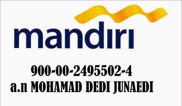 No Rekening Mandiri: