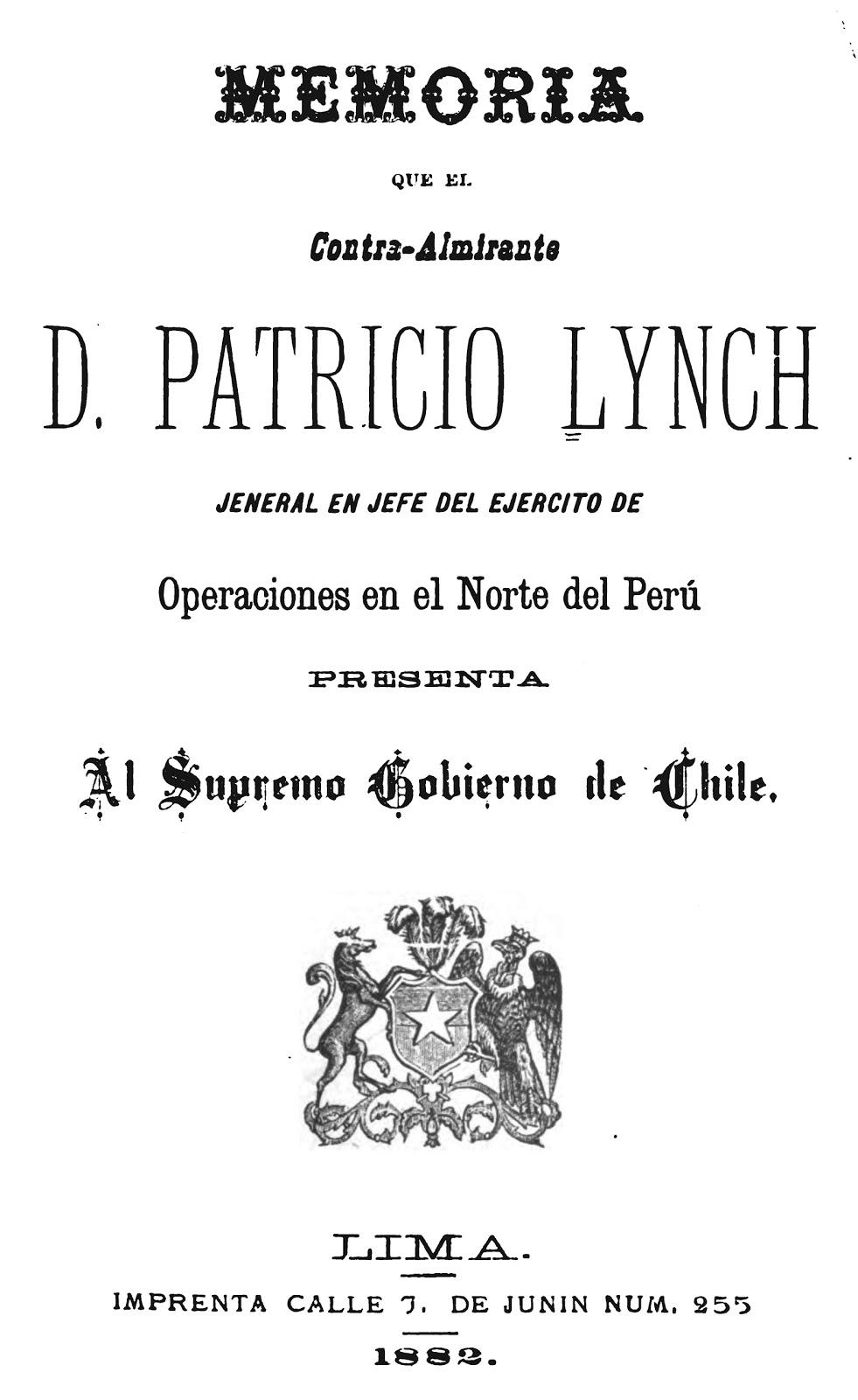 Asi robaron los invasores de 1881 la Imprenta del Estado Peruano ...