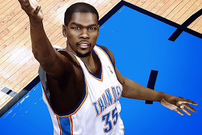 2K Kevin Durant Realistic Face Texture HD
