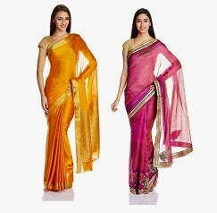 Women's Sarees: Flat 50% Off or more + Extra 30% Off @ Amazon