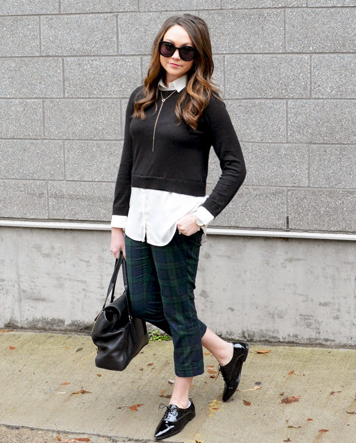 Fall Plaid Trousers