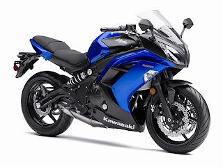 Gambar Sepeda Motor Kawasaki Ninja