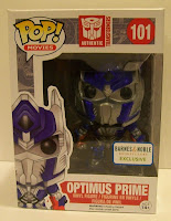 Funko Pop! Optimus Prime Metallic