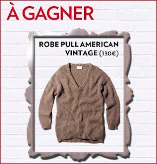 35 robes pulls American Vintage à gagner
