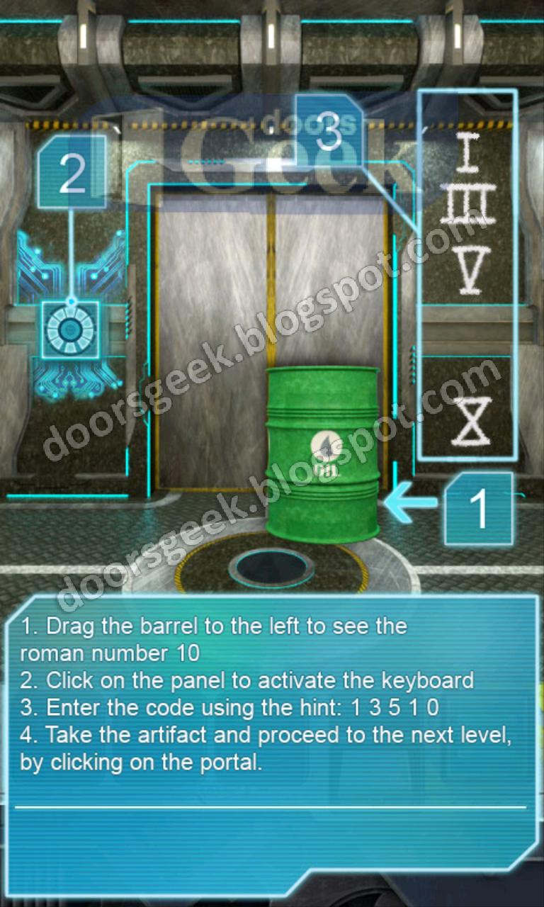 100 doors aliens space level 6 doors geek for 100 doors door 4 solution