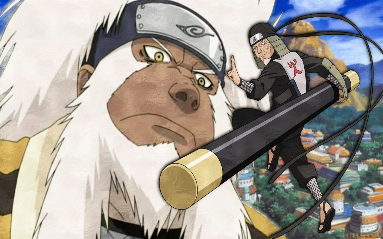 Naruto Shippuden as Hokage