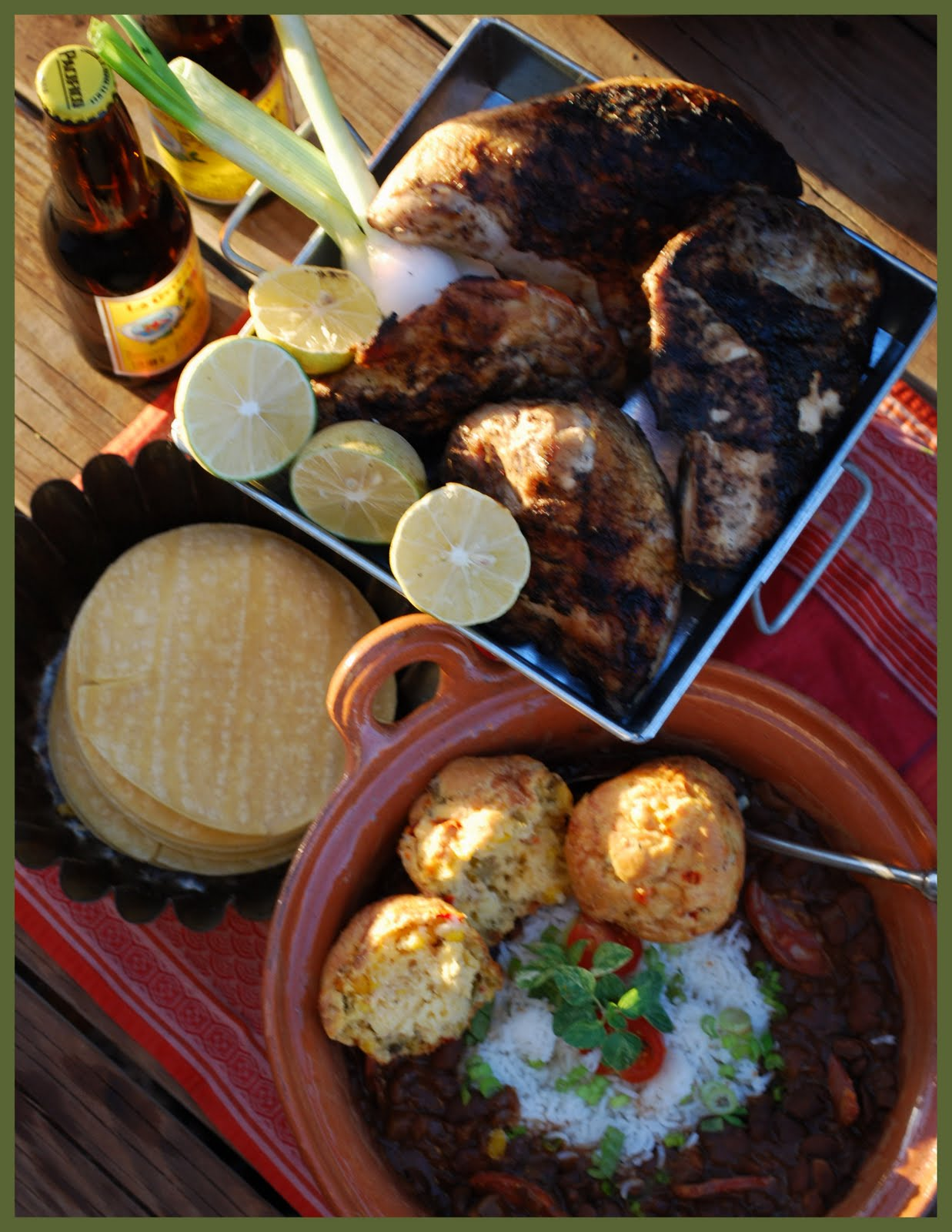 Notes from Maggie's Farm: cumin lime-brined grilled chicken