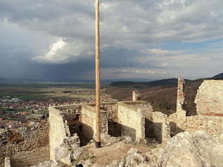 Rasnov Fortress-view North