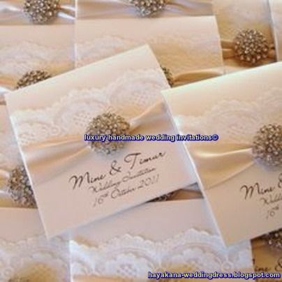 luxury handmade wedding invitations