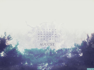 Lovely, Beautiful &amp; Amazing Desktop Wallpaper Calendars of August 2012 - Calendarshub.com