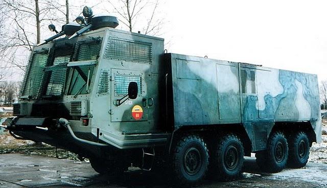 videos de camiones blindados antidisturbios rusia avalancha 2