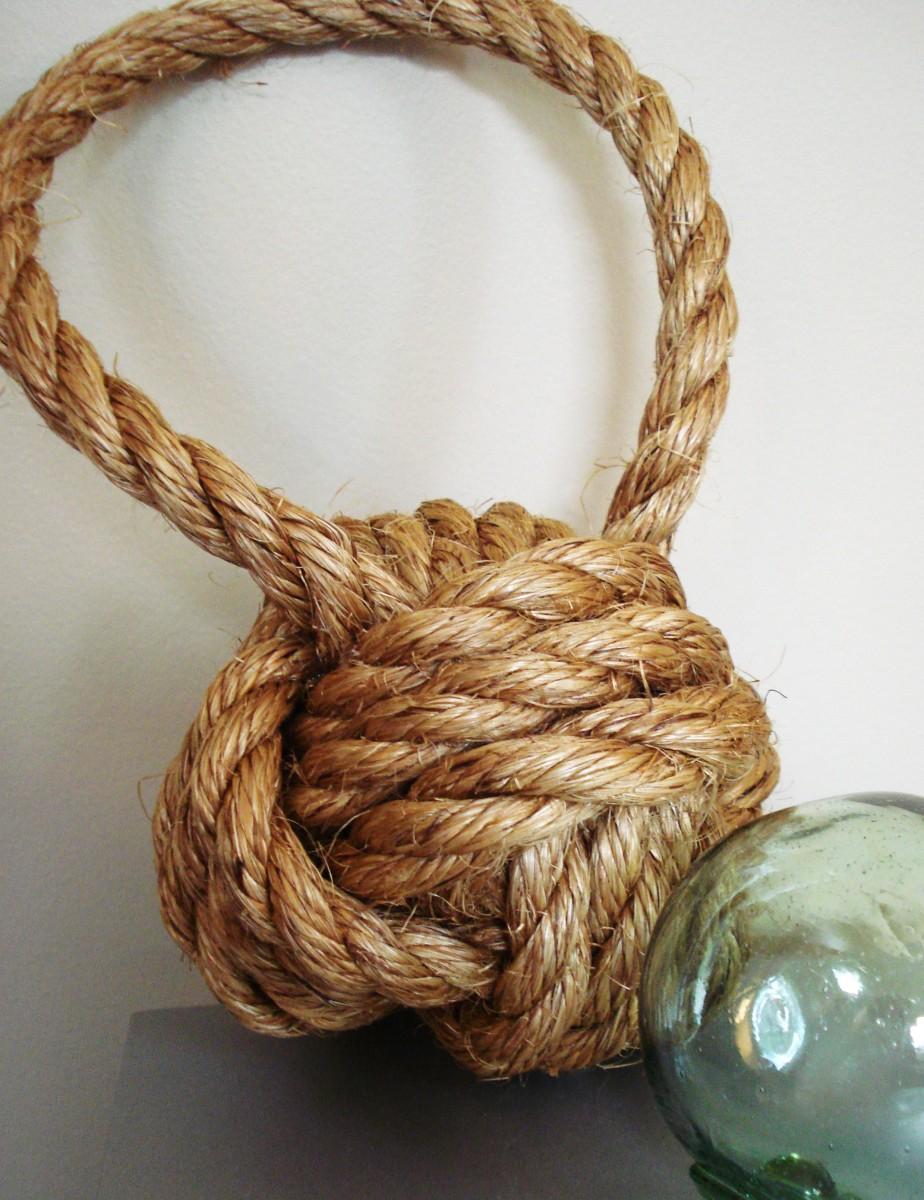 Плетение из пеньковой веревки своими руками 20