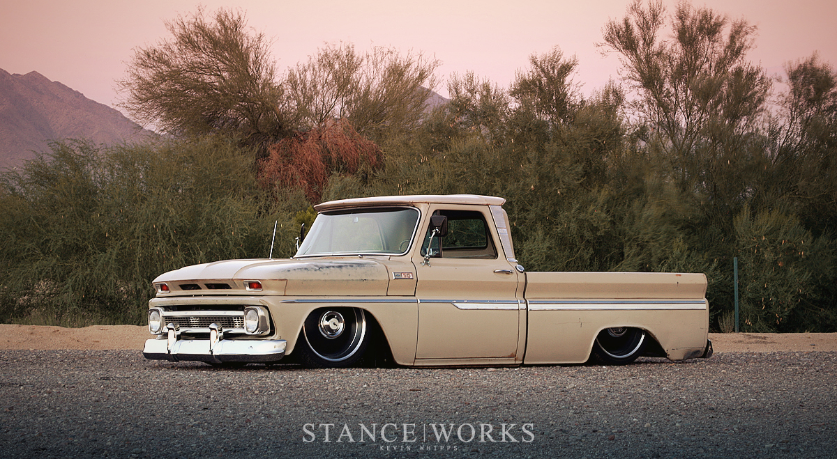 Working Class Kustoms 1965 Chevrolet C10 Stance Works