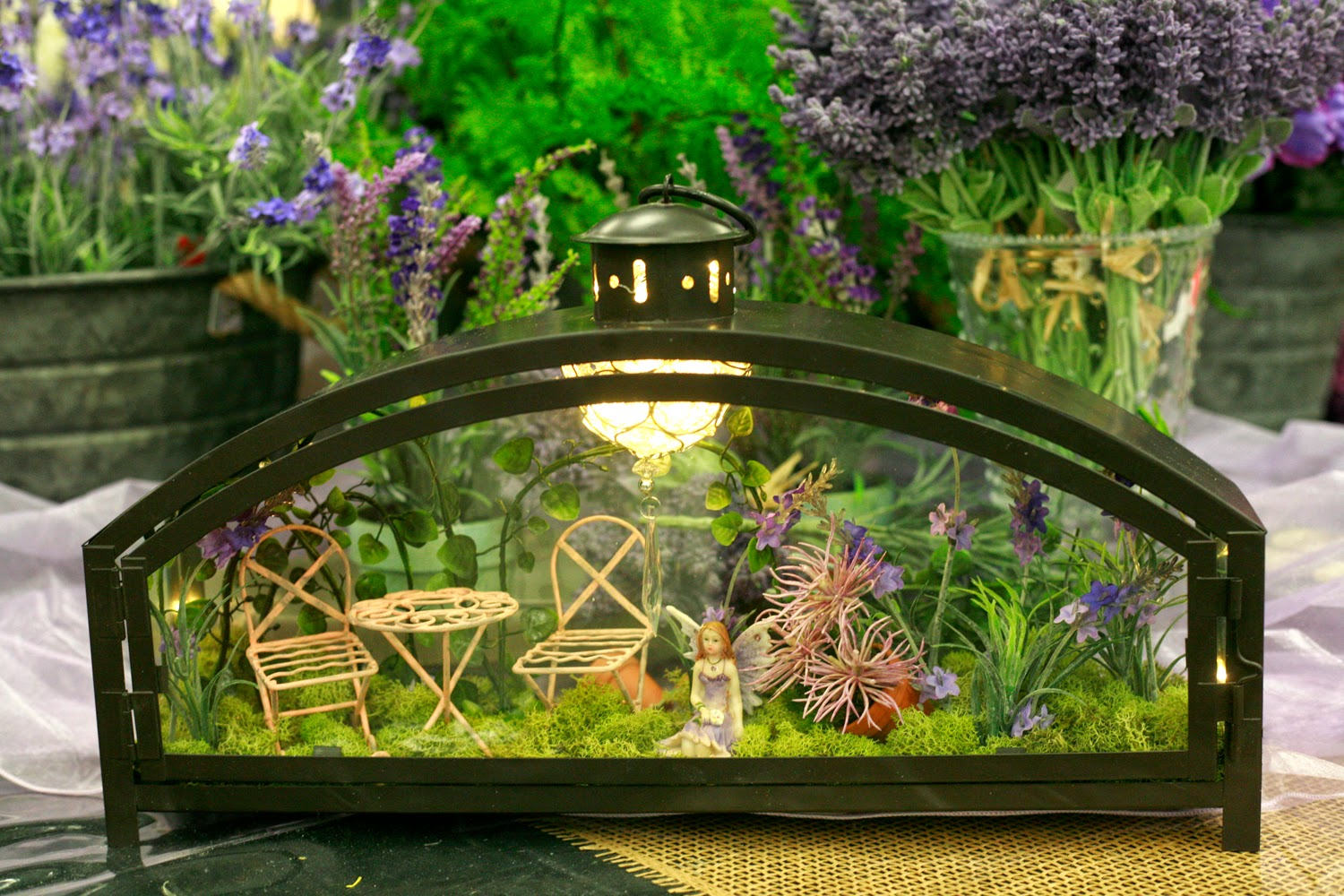 Ben franklin crafts and frame shop creative fairy garden for Craft ideas for fairy gardens