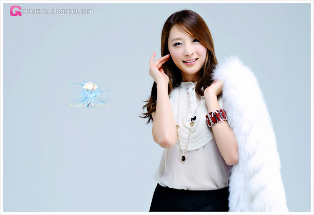 1 Eun Bin Yang in White-very cute asian girl-girlcute4u.blogspot.com