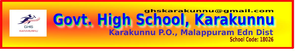 Govt.H.S. KARAKUNNU
