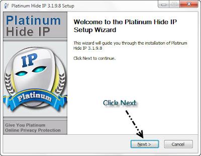 Platinum HIDE IP v3.1.9.8 full version with crack (100% testing)