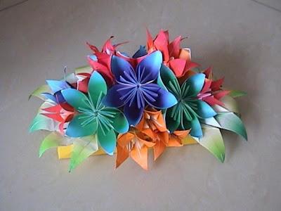 Make Easy Origami Flowers