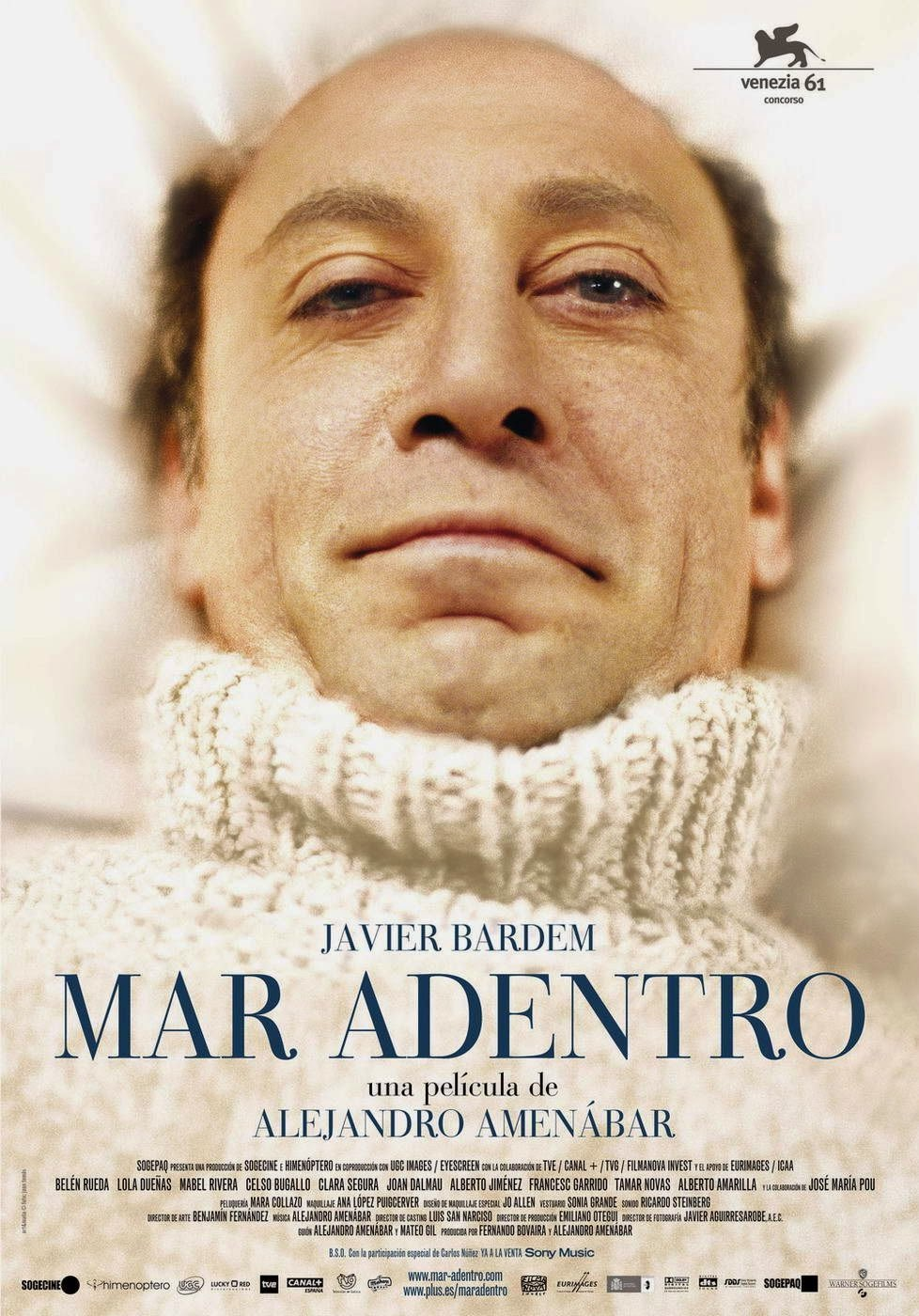 The Sea Inside Mar Adentro film poster