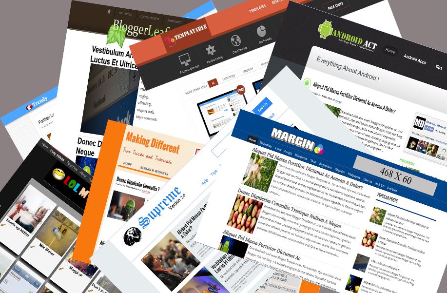 SEO Optimized Free Blogger Templates 2014 (Responsive) | Blogger ...