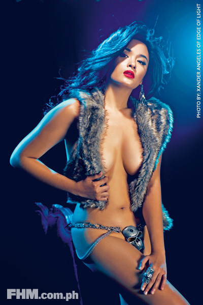 YAM CONCEPCION FHM SEXY HOT OCTOBER COVER PICTURES
