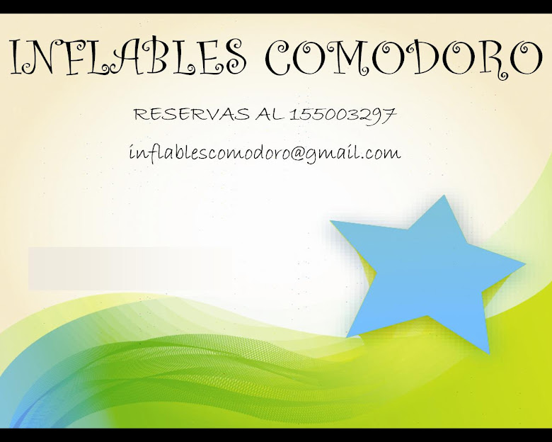 INFLABLES COMODORO