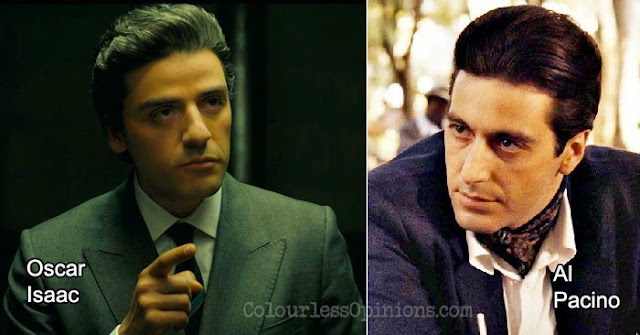 Oscar Isaac Al Pacino A Most Violent Year Godfather
