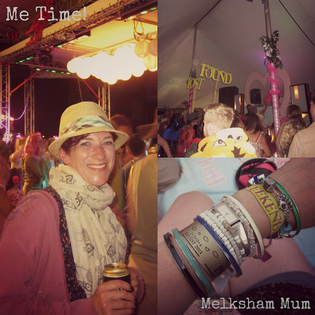 Making time for me at Camp Bestival 2013!