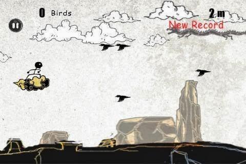Ajuda um ninja a se esquivar dos pássaros assassinos